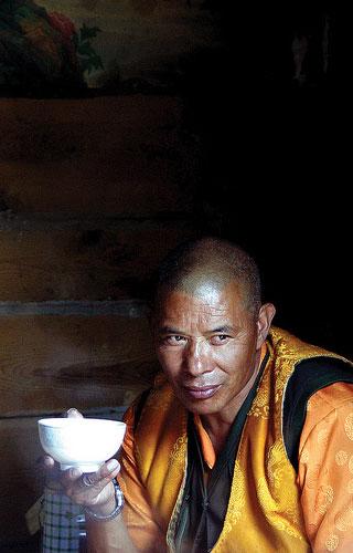 A Monk in Cultural Tibet