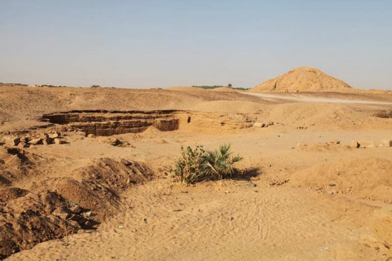 The archaeological site of El Kurru in northern Sudan. Credit: Geoff Emberling.