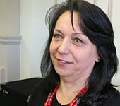 Svitlana Rogovyk, lecturer in Slavic languages and literatures.