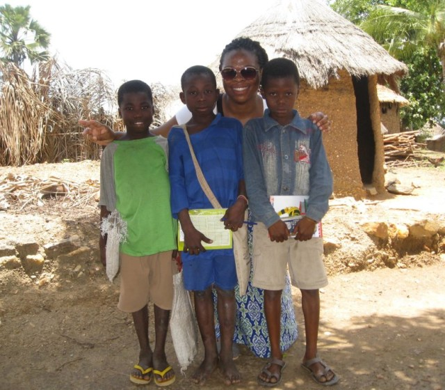 Emefah Loccoh is using her Fulbright grant to study health care in Togo in western Africa.