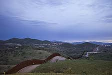 The US-Mexico border.