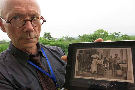 Werner Varnhorn researches his great uncle's life in Cameroon.
