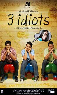 """3 Idiots"" was a blockbuster in 2009."