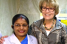 U-M President Mary Sue Coleman visits India.