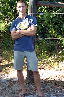 Zach Petroni in Kenya.