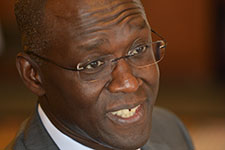 Makhtar Diop, vice president for Africa for the World Bank. (Credit: Peter Smith)