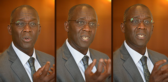 Makhtar Diop, vice president for Africa at the World  Bank. (Credit: Peter Smith)