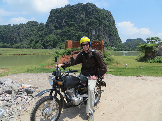 Tom Sargeanston did a William Davidson Institute internship in Vietnam.