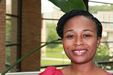 Linda Fondjo's work is in molecular medicine.