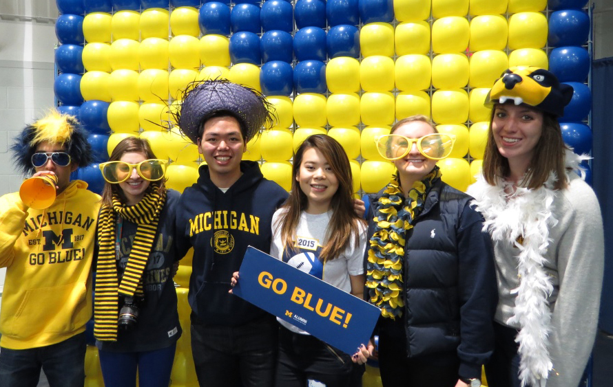 The Leaders and Best Global Tailgate helps U.S. and international students share traditions.