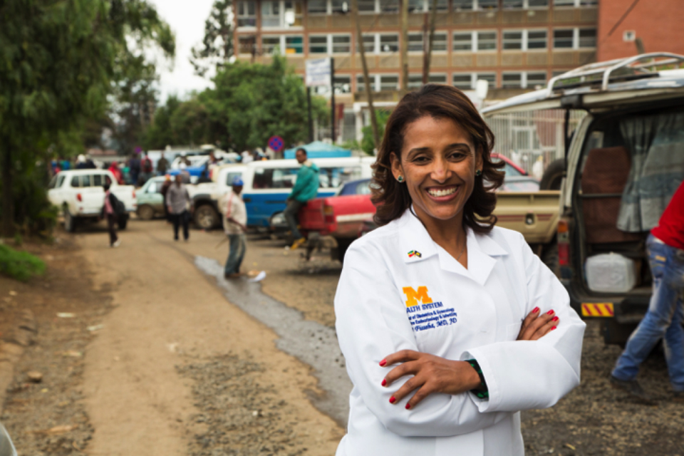 """We've done a great job expanding training. But I would like St. Paul's to be the premier institution in Ethiopia, if not in East Africa. We've done a great job in training. We're beginning to expand with research."" Senait Fisseha"