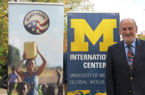 Al Guskin, a U-M alumnus who helped create the Peace Corps.