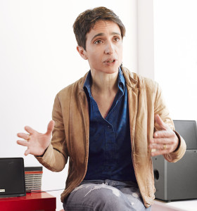 Masha Gessen, winner of the 2015 Wallenberg Medal