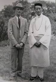 Walter Koelz and Thakur Rup Chand (Credit: Bentley Historical Library)