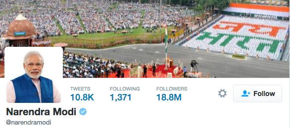 Modi-Twitter