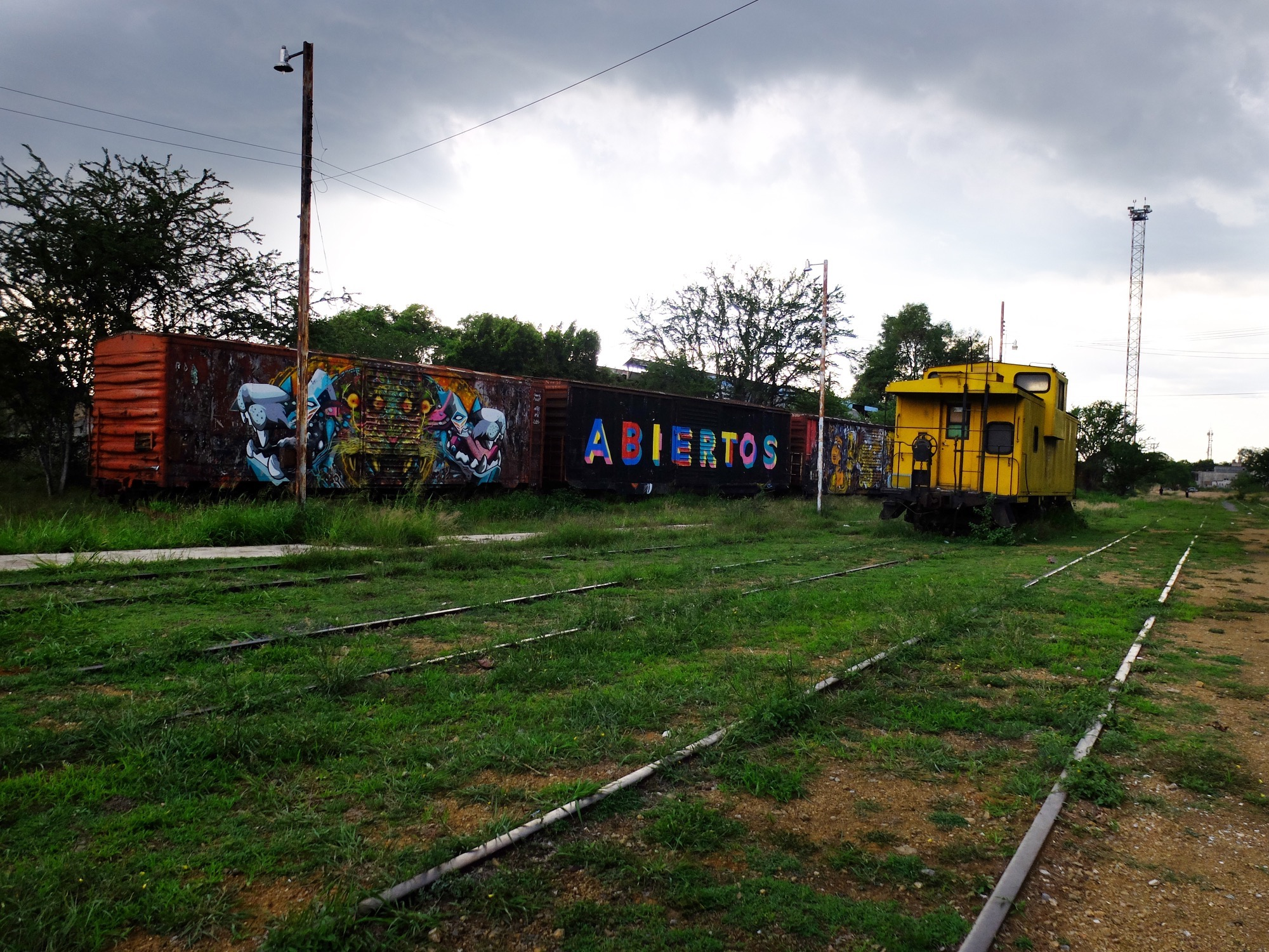 Museo del Ferrocarril (railroad museum).