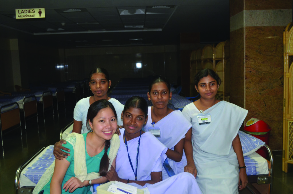 HG and Aravind nurses 12