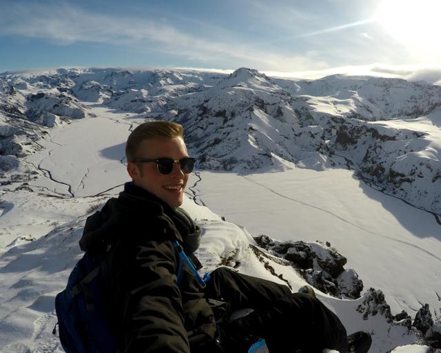 Emmet Dettweiler - Iceland Summit