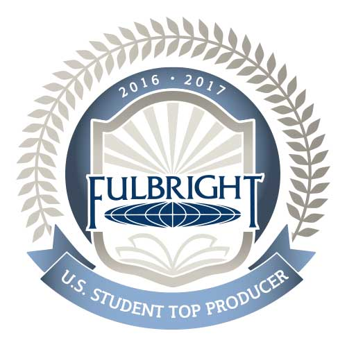 Fulbright logo top student producer
