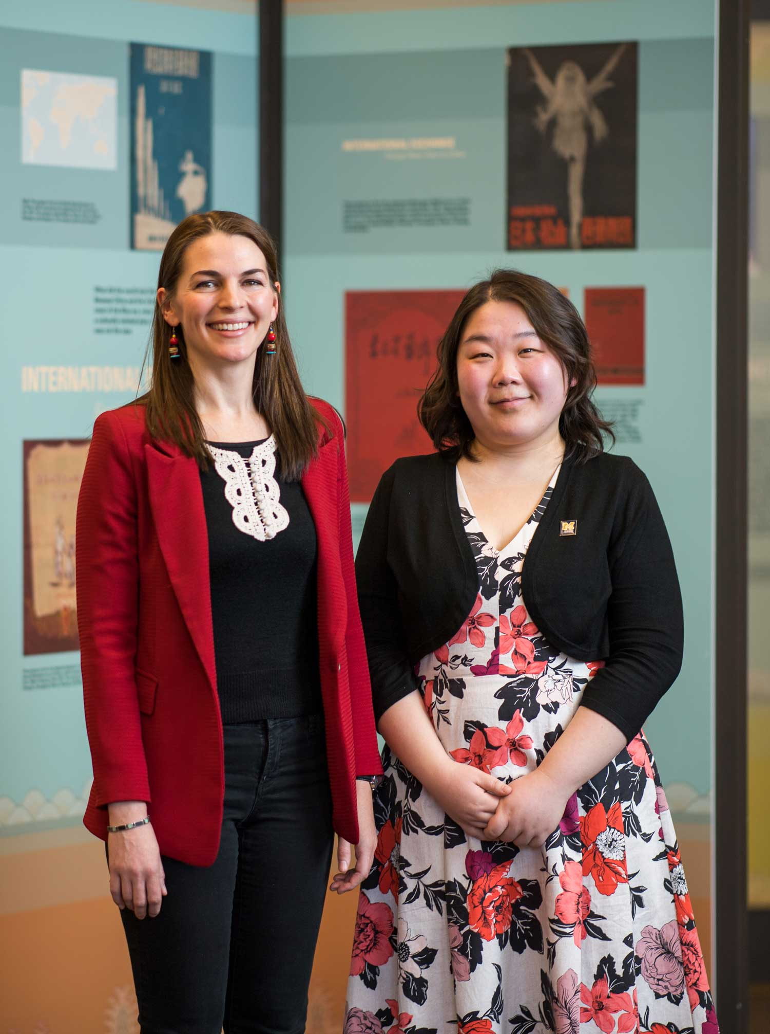 Dr. Emily Wilcox and Dr. Liangyu Fu