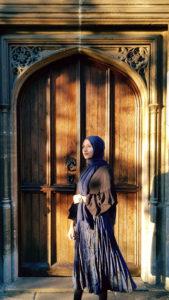 Laiba Hussain in Birmigham. Photo credit: Laiba Hussain