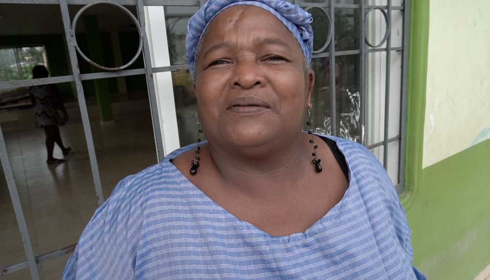 Matilde Montaño Arce, a community leader in Borbón, said having broiler chicken has provided food and economic security to her community. Courtesy of Jay Graham, Oakland Public Health Institute