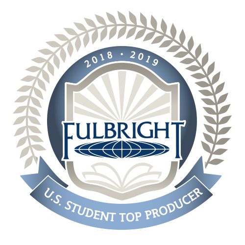 Fulbright student logo