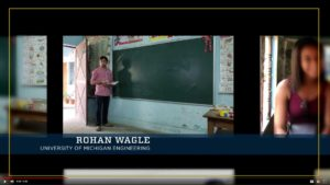 "Bonus video: Rohan Wagle's experience in India. ""Instead of doing an internship related to my field, I changed up and did something completely different,"" he said."