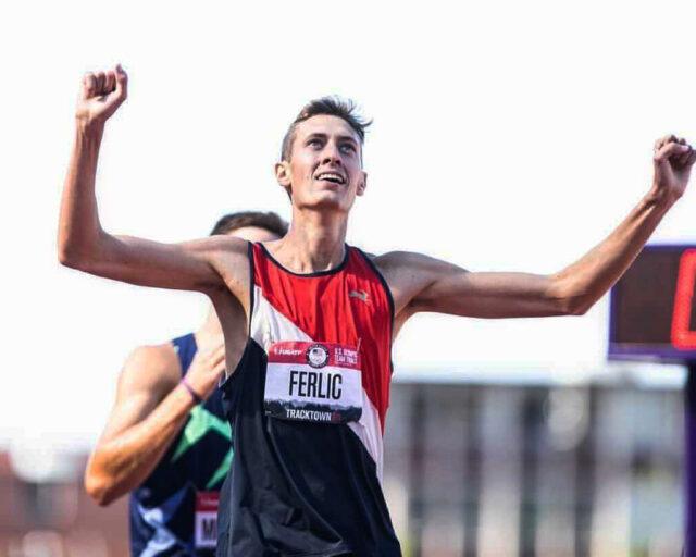 U-M student Mason Ferlic qualifies for the Olympic games. Image Courtesy: Mason Ferlic.