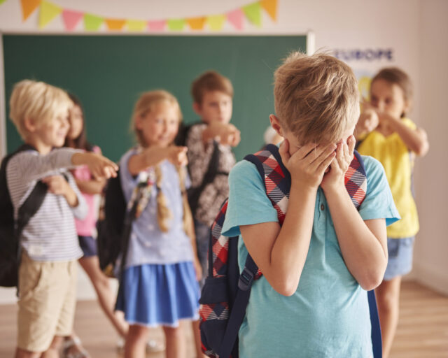 Picture showing children at school. Image credit: iStock.