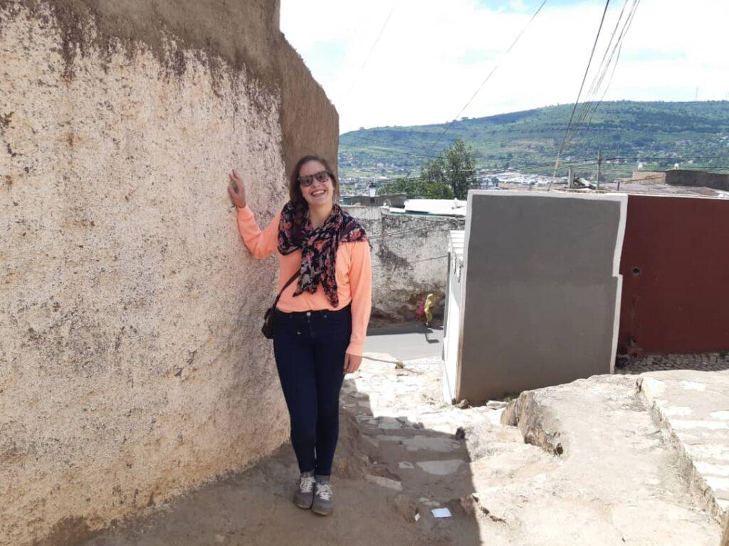 Carly Marten in Harar, Ethiopia.