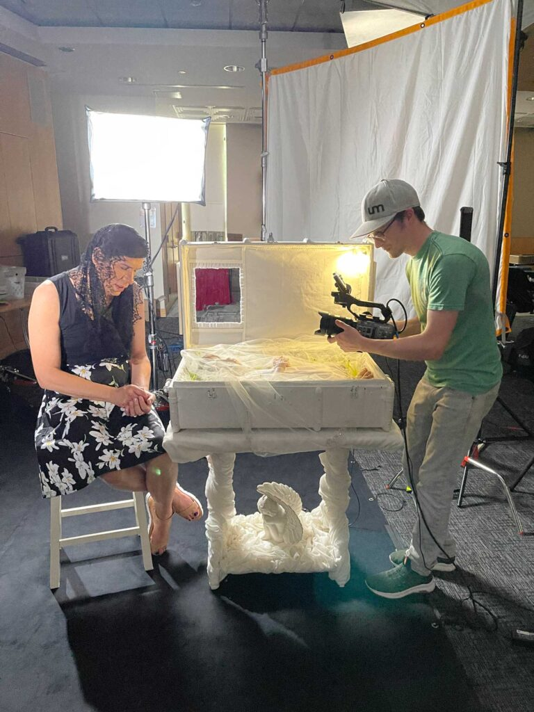 Pinto performance video shoot