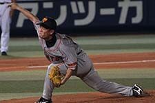 Photo of Japanese baseball pitcher, courtesy of Wikimedia Commons.