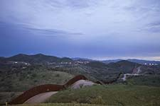 The US-Mexico border.