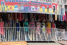 The Kajetia Marketplace in Kumasi, Ghana.