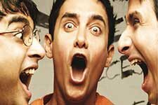 3 Idiots was a blockbuster Bollywood film.