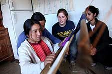 A weaver in Guatemala. Photo by Marcin Szczepanski.