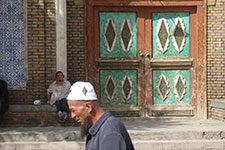 A Muslim man in China's far western city of Yarkand. Credit: William Foreman