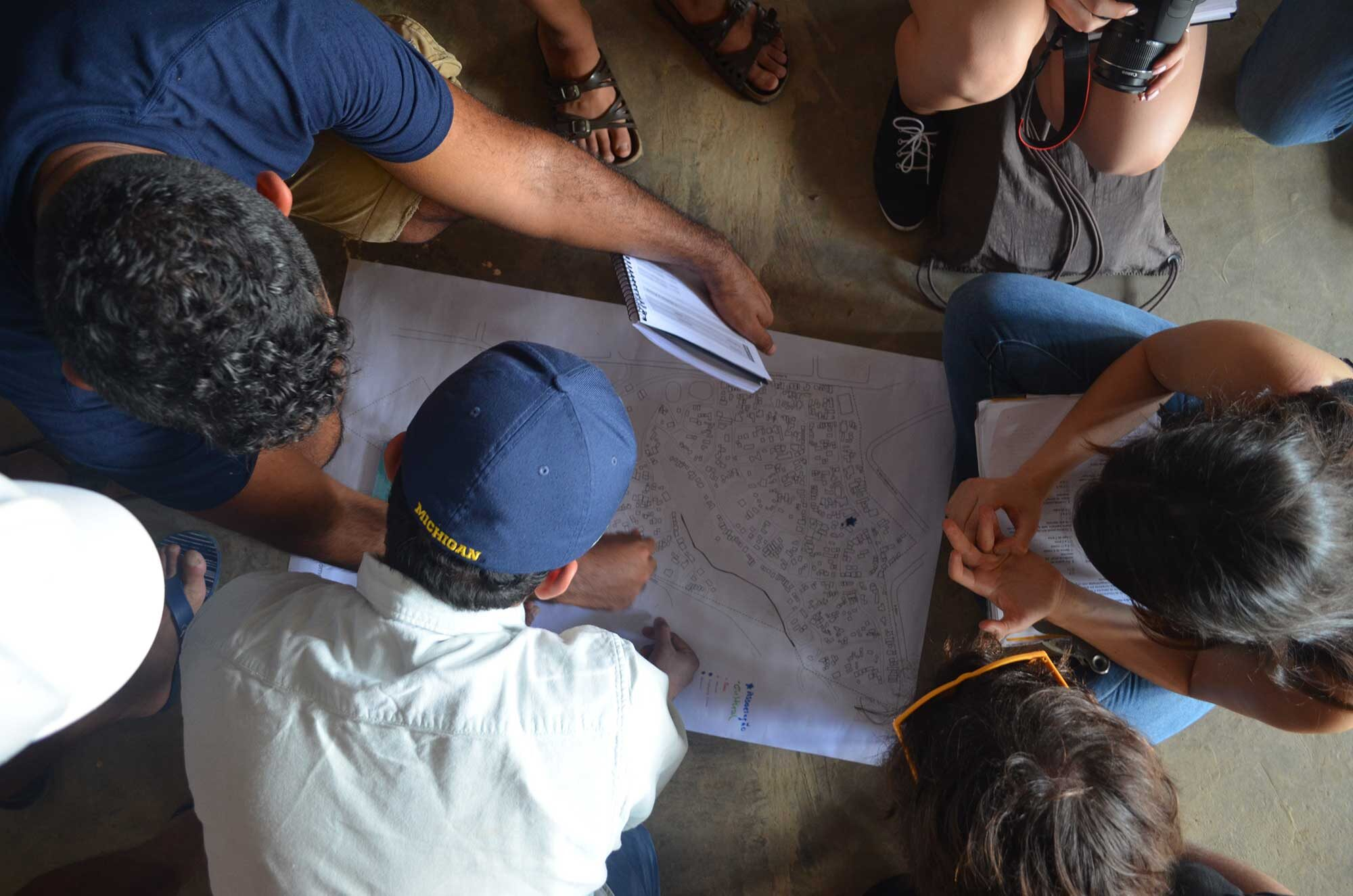 Finding a sense of place U-M students help poor Brazilians improve living conditions